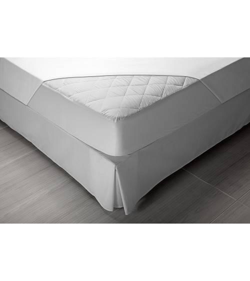 Pikolin Home - Protector de colchón/Cubre colchón acolchado, transpirable, 190/200cm (Todas las medidas)