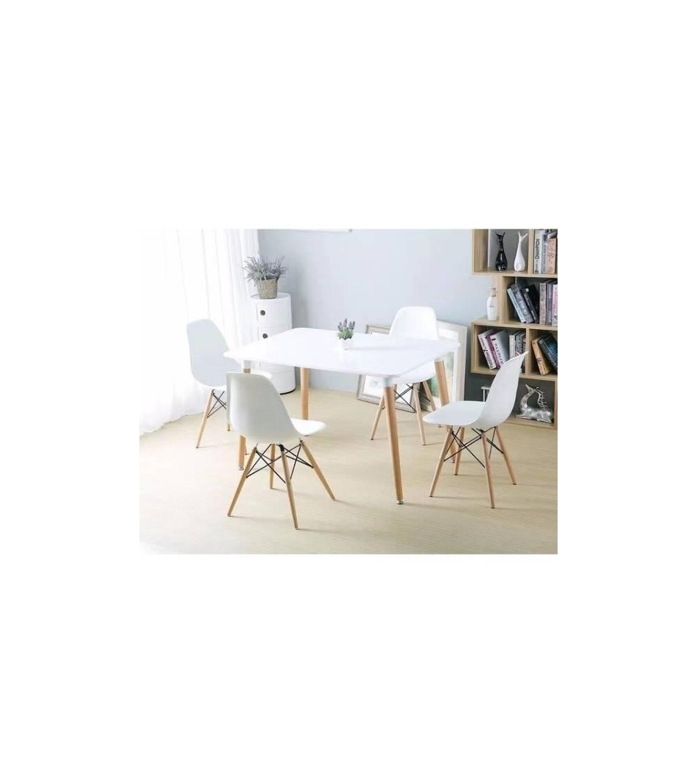 Replica mesa Eames + 4 Sillas Eames