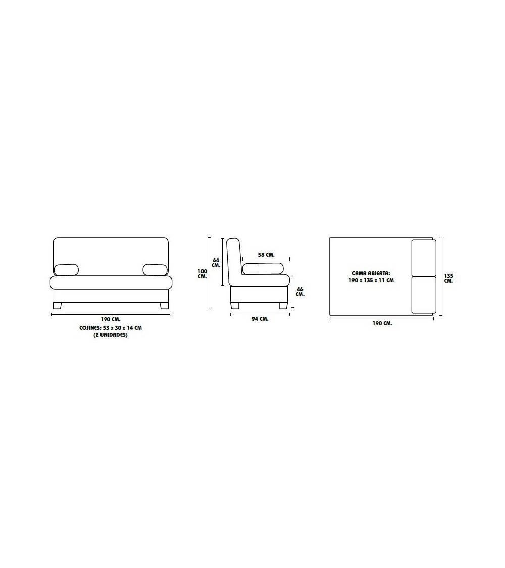 Arc Sofá cama