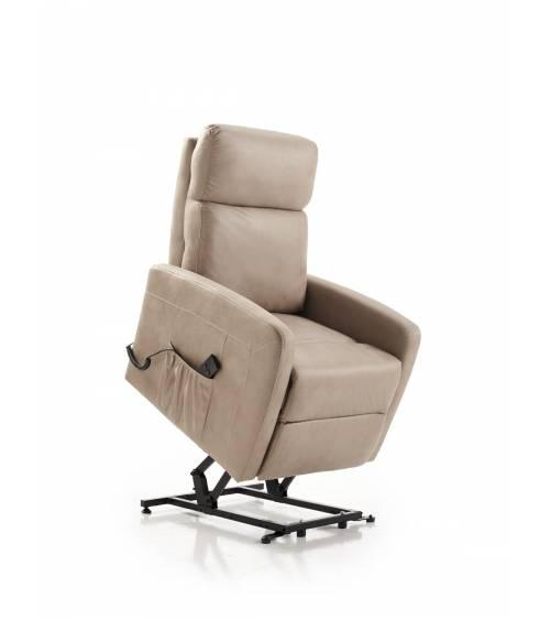 Sillón relax STAR, butaca reclinable con sistema levantapersonas y reposapiés motorizado con mando