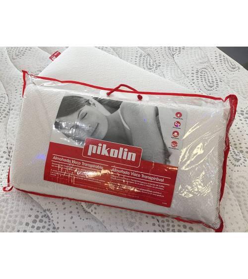 Pikolin- Almohada VISCO 3D-Air, viscotáctica y transpirables en 70, 75 cm